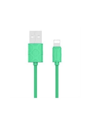 Baseus Baseus Yaven iPhone 7 8 X Xs 11 Max Pro 1 Metre Data Şarj Kablosu Yeşil